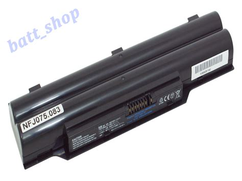 Baterai Fujitsu Lifebook Lh520 Lh530 Lithium Ion uk battery 48wh for fujitsu lifebook a530 uk lifebook