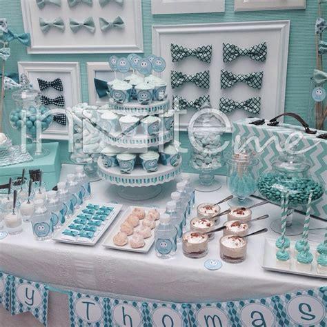 Baby Boy Shower Dessert Ideas by Beautiful Blue Turquoise Baby Shower Dessert Table Baby