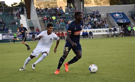 swinging things jacksonville nc north carolina fc finish road swing in jacksonville with