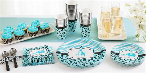 Blue Safari Baby Shower by Blue Safari Baby Shower Supplies City