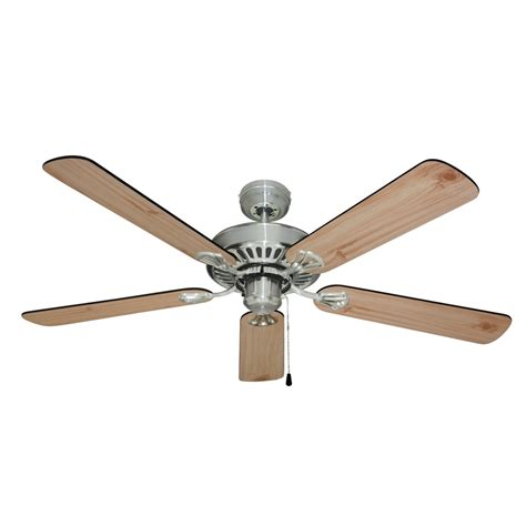 mercator 1300mm hayman ceiling fan brushed chrome
