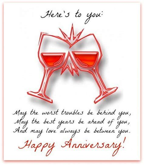 Wedding Anniversary Wishes For Relatives by Happy Anniversary Messages And Wishes Wedding