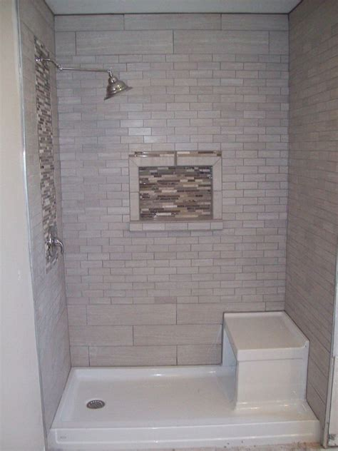 shower pan with bench 11 best tile shower images on pinterest small bathrooms
