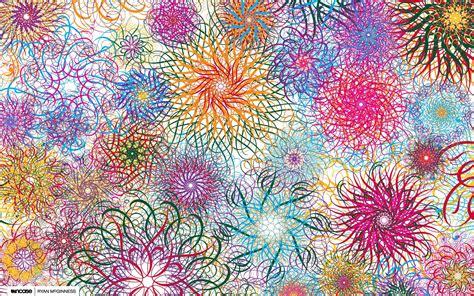 imagenes abstractas para fondo de pantalla fondos de pantalla de flores abstractas multicolor tama 241 o