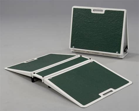 26 inch wide folding threshold bridge wheelchair ramp