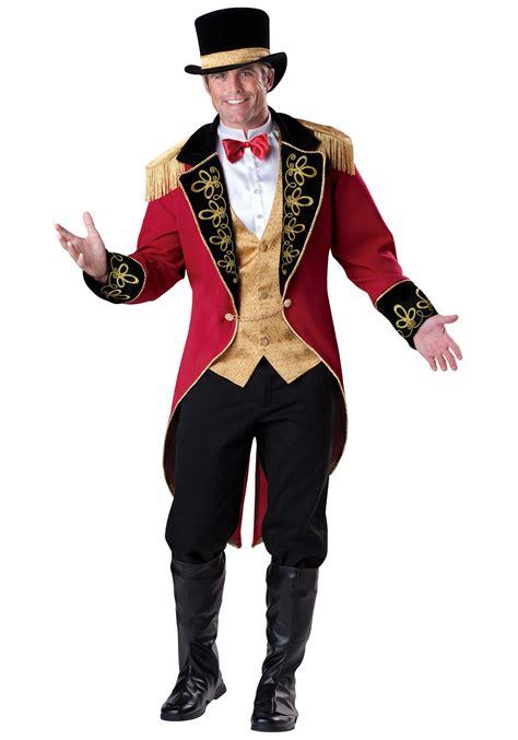 Mens Ringmaster Costume | mens elite ringmaster costume