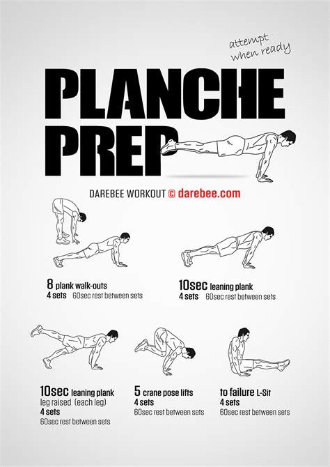 planche prep workout