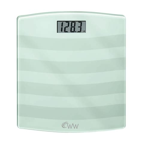 conair weight watchers compact tracker scale home bed