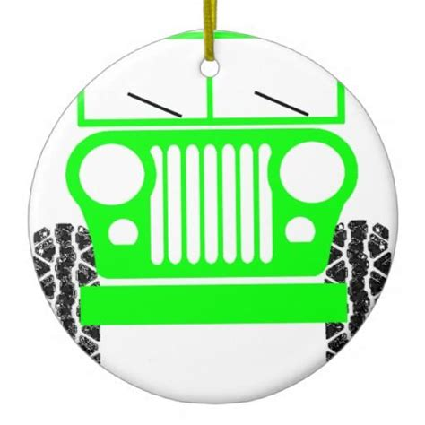 jeep christmas ornament 28 best images about jeep for the holidays on pinterest