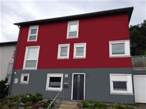 rote fassadenfarbe galerie www haus farbe de
