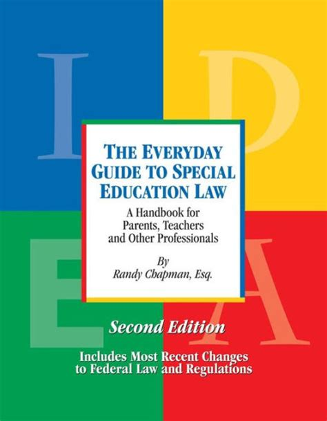 libro the laws guide to the everyday guide to special education law second