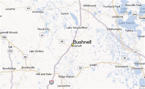 bushnell florida map bushnell weather station record historical weather for