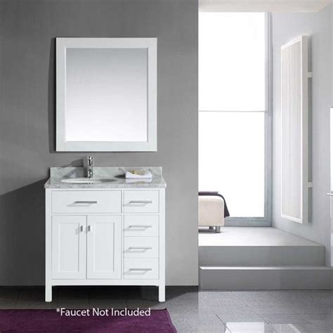 design element bathroom vanities design element 36 quot london single sink bathroom vanity