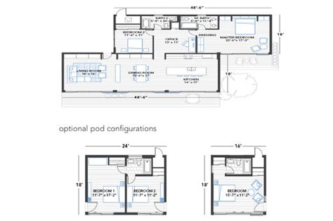 glidehouse floor plans blu homes unfolds a glidehouse prefab on vashon island in