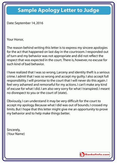 Apology Letter To Court For Speeding apology letter for court letters font