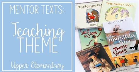 biography mentor text read alouds to teach theme mentor texts for reading series