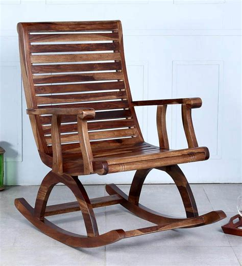 rocking chair home fixtures elegance the furniture with teak rocking chair