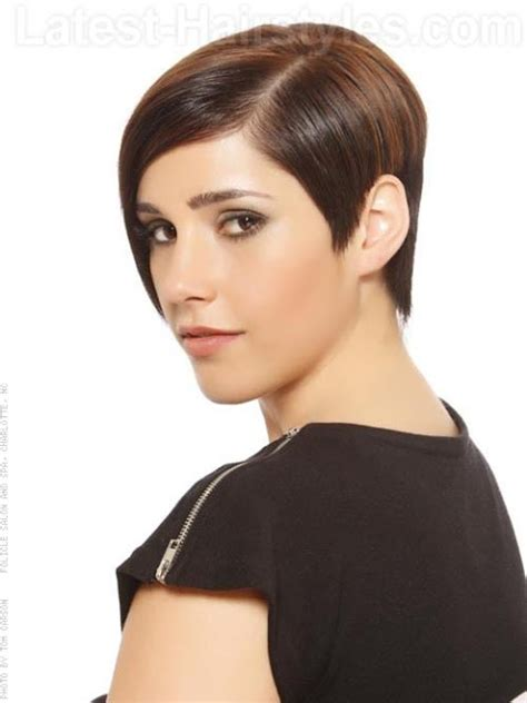 geometrical bob haircut top hairstyles models short black hairstyles for women