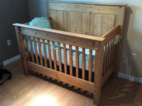 Handmade Wooden Crib - 25 best ideas about rustic crib on nature