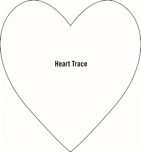 heart pattern in c large heart template w4zmutn0 valentine s day