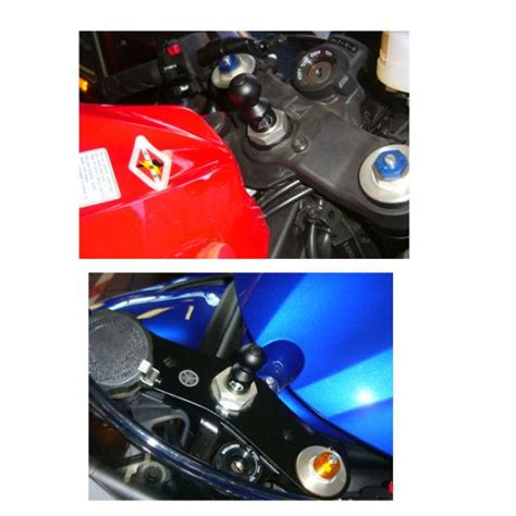 Motorrad Navigation Befestigung by Navi Halterung Suzuki Hayabusa U A Lenkkopf Lager 12 15mm