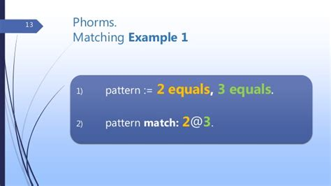 image pattern matching library phorms pattern matching library for pharo