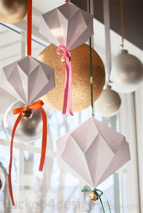 diy ornaments origami origami jingle bell ornament diy projects