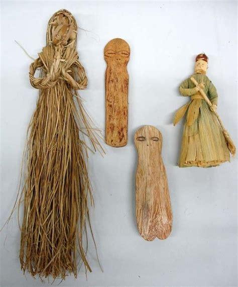 simple corn husk doll primitive straw and corn husk dolls ca shaman