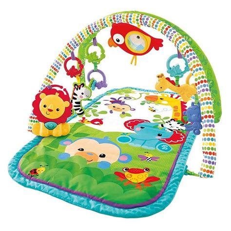 Tapis éveil Jungle by Fisher Price Musical Play Mat Fisher Price Link N Play