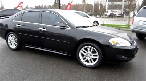 2012 impala ltz 2012 chevrolet impala ltz black stock 606592 walk