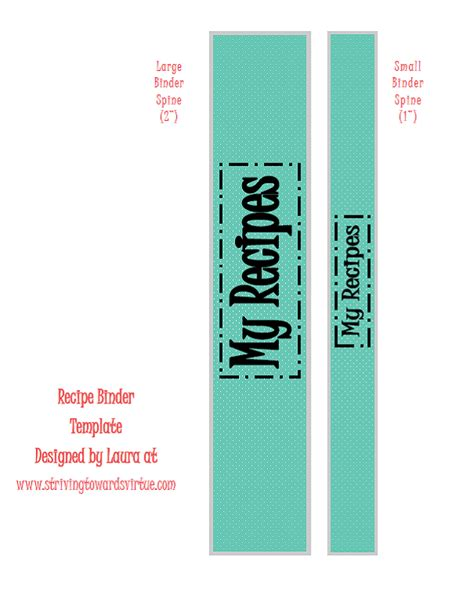 binder spine template sawdust and lipstick free printables