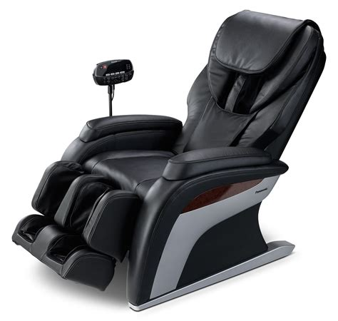 massager chair panasonic collection reclining chair black