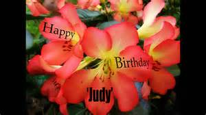Happy birthday judy youtube
