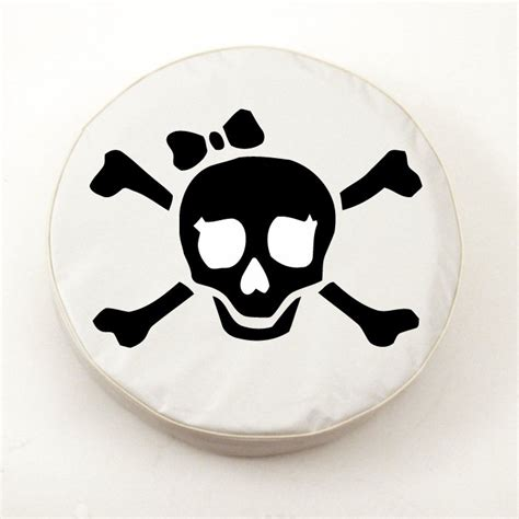jolly roger jeep tire cover jolly roger white spare tire cover by hbs covers