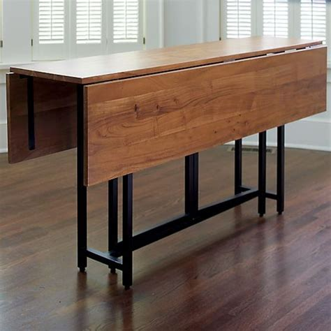 Dining Table With Drop Leaf Introducing Drop Leaf Dining Tables The Space Savers