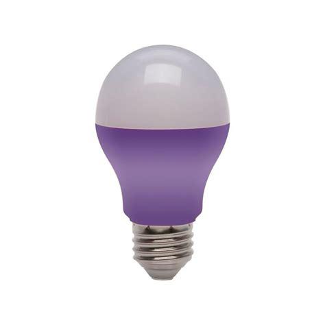 Purple Led Light Bulbs Ecosmart 25 Watt Equivalent A19 Purple Led Light Bulb 4 Pack Ecs Gp19 Purple Ndm 120 Bl The