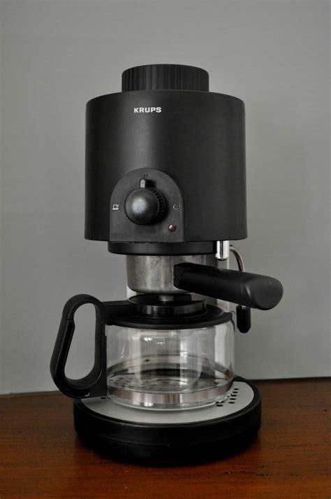 Krups Coffee Machine krups 996 cafe trio coffee espresso machine maker