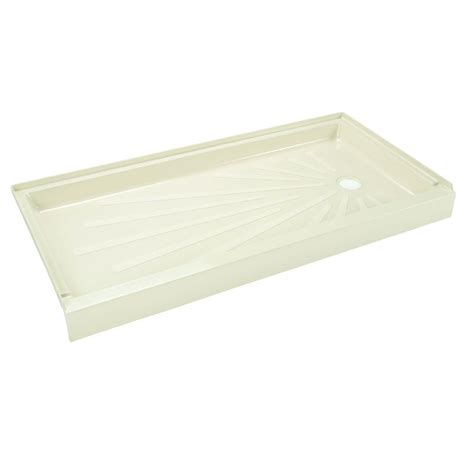 mustee caregiver shower tub 30 in x 60 in single