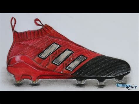 boat cleat drawing adidas ace 17 purecontrol cleats art youtube