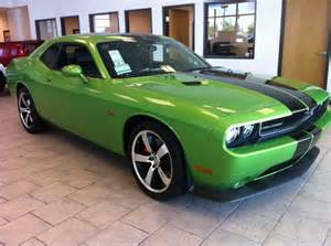 Dodge Challenger Green With Envy For Sale Dodge Challenger Srt8 392 Green With Envy