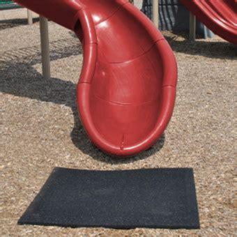 mat for under swing set blue sky slide mat rubber playground mats 2 x 4 ft x 1 inch