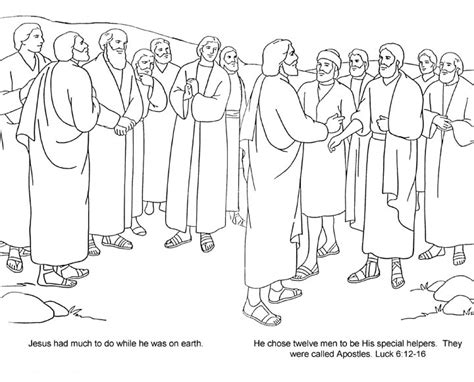 12 Disciples Worksheet by Bible 12 Disciples 12 Apostles Jo