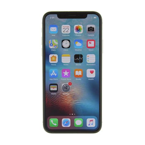 iphone 0 dollars apple iphone x a1901 64gb silver smartphone lte gsm unlocked ebay