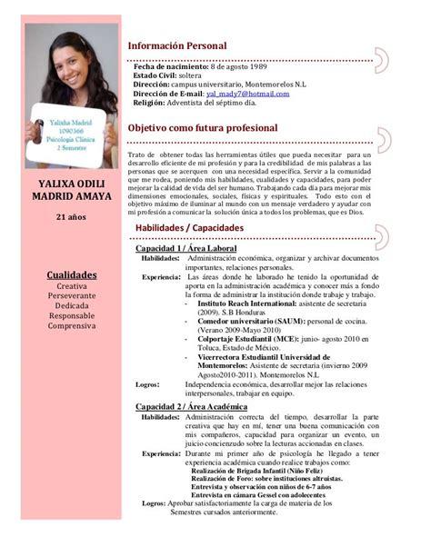 Modelo Curriculum Administrativo Contable Como Escribir Un Curr 237 Culum De Secretaria Ejemplos De