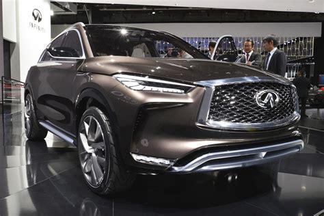 auto show infiniti qx50 concept debuts at 2017 detroit auto show