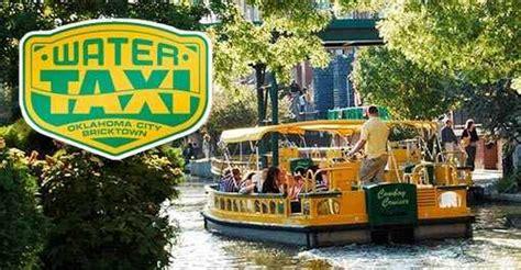 boat service oklahoma city bricktown water taxi oklahoma oklahoma