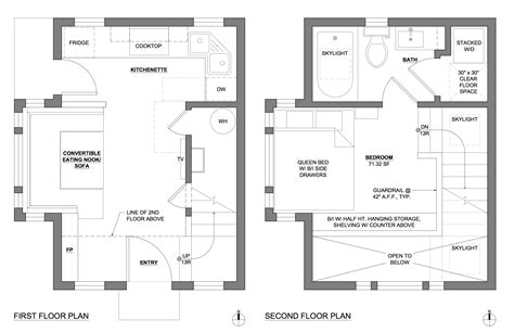 house plans with adu accessory dwelling unit floor plans mibhouse com
