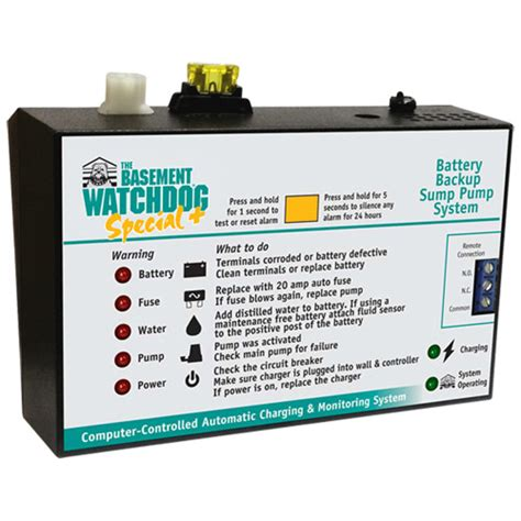 basement watchdog special backup system top of the line