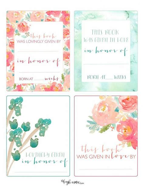 free printable bookplates templates 78 free printable labels and beautiful tags tip junkie