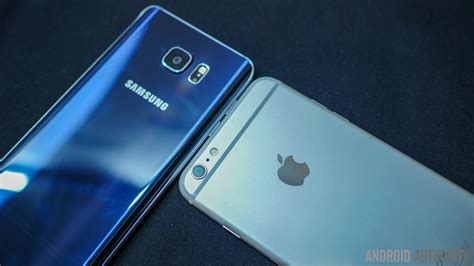 samsung galaxy note 5 vs iphone 6 plus which is the large screen king